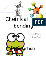 Chemical Bonding Sim