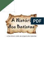 A História Dos Batistas