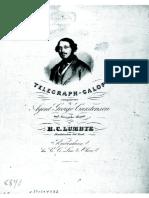 Lumbye - Telegraph Galop (piano)