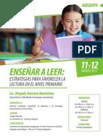 Curso Corto_ensenar a Leer_arequipa