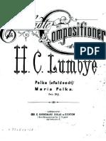 Lumbye - Maria Polka - Piano