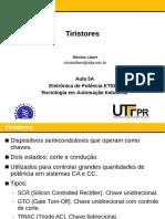 Aula 05A - Tiristores (1)