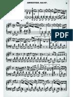 Lumbye - Amoretten Galop - Piano