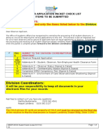 2013 Observer - Applicant Forms