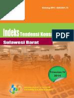 Indeks Tendensi Konsumen Sulawesi Barat Triwulan IV Tahun 2014
