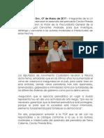 Condenan diputados de la LXI legislatura el asesinato del periodista Cecilio Pineda Brito