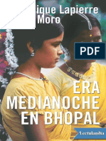 Era Medianoche en Bhopal - Dominique Lapierre