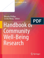 Handbook of Community Well-being Research