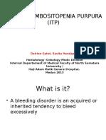 K 30(2),Perdarahan, ITP