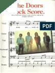 the Doors Rock Score Band