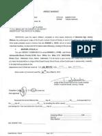Hyde, Ronnie FBI Affidavit for arrest