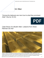 Case Study of a Muslim Man_ Lessons From Abdul Rahman Ibn Awf – the Ideal Muslim Man