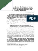 Sự Phát Triển Thương Mại Việt - Trung Dưới Triều Nguyễn - Lương Chí Minh