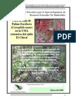 Informe Preventivo Para El Aprovechamiento de Recursos Forestales No Maderables
