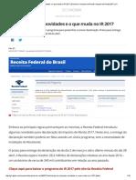 Veja as Principais Novidades e o Que Muda No IR 2017 _ Economia _ Imposto de Renda _ Imposto de Renda 2017 _ G1