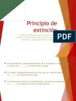 Principio de Extinción