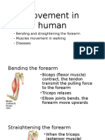 Movement in Human