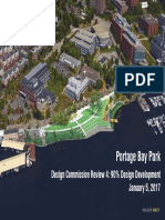 Seattle Design Commission - Portage Bay Park Presentation - 01-05-2017