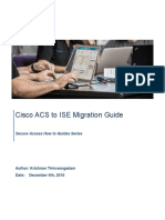 ACS 5 x to ISE Migration Guide