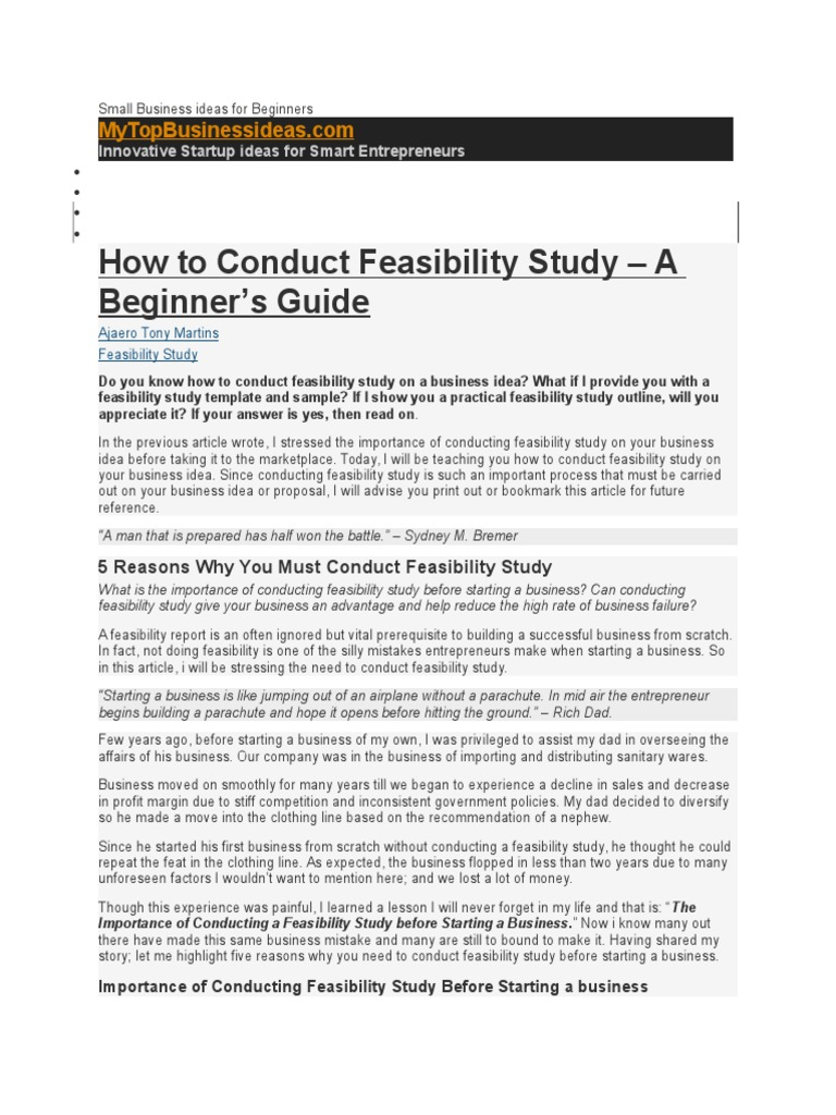 Nice Feasibility Study Proposal Template Ideas - Professional Resume ...