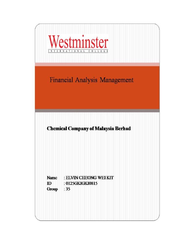Fam Assignment - Ccm | Internal Rate Of Return | Net Present Value