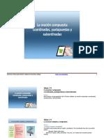 M3-La oración compuesta coordinadas, subordinadas y yuxtapuestas (2).pdf