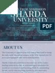 Sharda B.Tech Admssion 2017