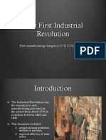 Industrial Revolutions Manufactoringllll