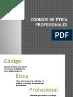56013599 Codigos de Etica Profesionales