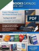 2016 Book Catalogue