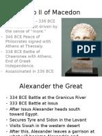 Alexander Lecture Dec. 8