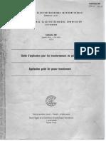 Spln 37a_1980 (Iec Pub. 606,First Edt 1978)