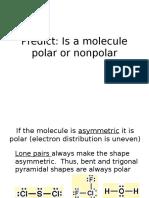 polar vs nonpolar
