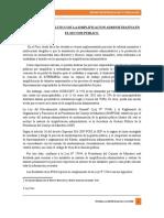 Analisis Juridico de La Simplificacion Administrativa Actual en El Peru
