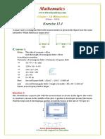 8 Maths NCERT Solutions Chapter 11 1