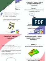 Dipticos y Stickers Para Modificar Por Empresa