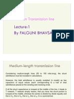 Lecture 2 Medium Transmission Lines
