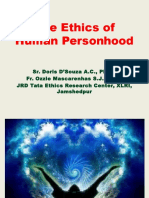Ethics of Human Personhood 2016