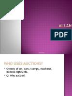 live auctioner | Auction Design | Allan Baitcher