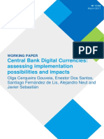 BBVA Central Bank Digital Currencies- Assessing Implementation Possibilities and Impacts,March 2017