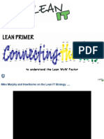Lean IT Primer for  IT Ops