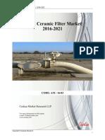 Global Market for Ceramic Filters