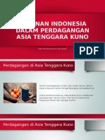 Peranan Indonesia Dalam Perdagangan Asia Tenggara Kuno
