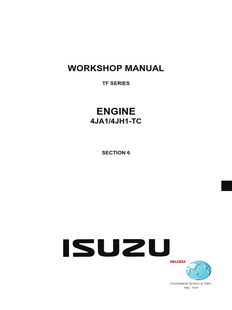 isuzu wizard repair manual