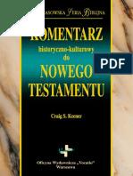 Komentarz Historyczno- Kulturowy Do_NT_fragment