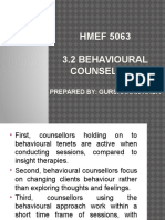 Behavioural Counselling