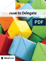 How to Delegate Club