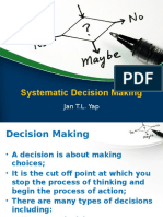 03 Systematic Decision Making