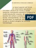 Noţiuni Generale de Anatomie Şi Fiziologie a Sângelui