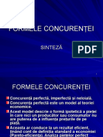 C 6 Formele Concurentei